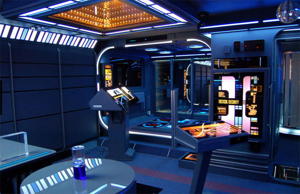 A studio apartment built to look just like Star Trek s Voyager is up for  sale in the United Kingdom. Ultimate Star Trek Apartment For Sale