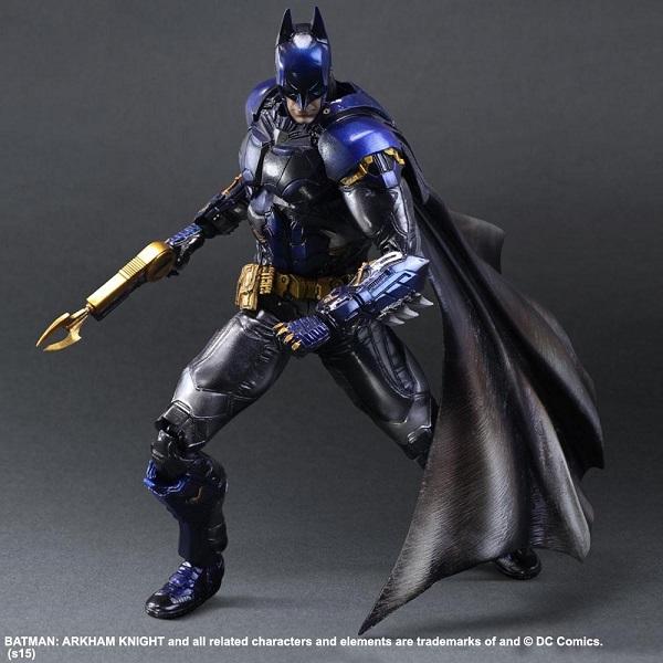 Arkham Knight figure colored 4