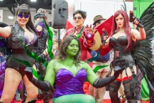 Rule 63 Avengers - San Diego Comic-Con 2015 - Photo by Geeks are Sexy