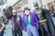 Batman and The Joker - San Diego Comic-Con 2015 - Photo by Geeks are Sexy