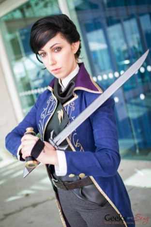 Emily Kaldwin (Dishonored 2) - San Diego Comic-Con 2015 - Photo by Geeks are Sexy