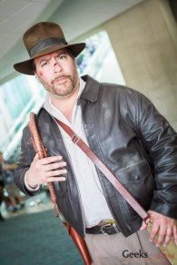 Indiana Jones - San Diego Comic-Con 2015 - Photo by Geeks are Sexy