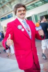 Ron Burgundy (Anchorman) - San Diego Comic-Con 2015 - Photo by Geeks are Sexy