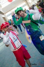 Mario and Luigi - San Diego Comic-Con 2015 - Photo by Geeks are Sexy