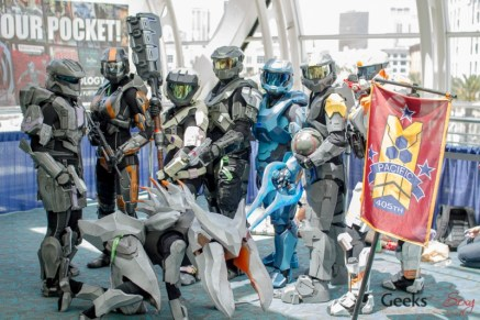 Spartans - San Diego Comic-Con 2015 - Photo by Geeks are Sexy