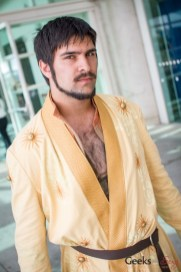 The Red Viper of Dorne - San Diego Comic-Con 2015 - Photo by Geeks are Sexy