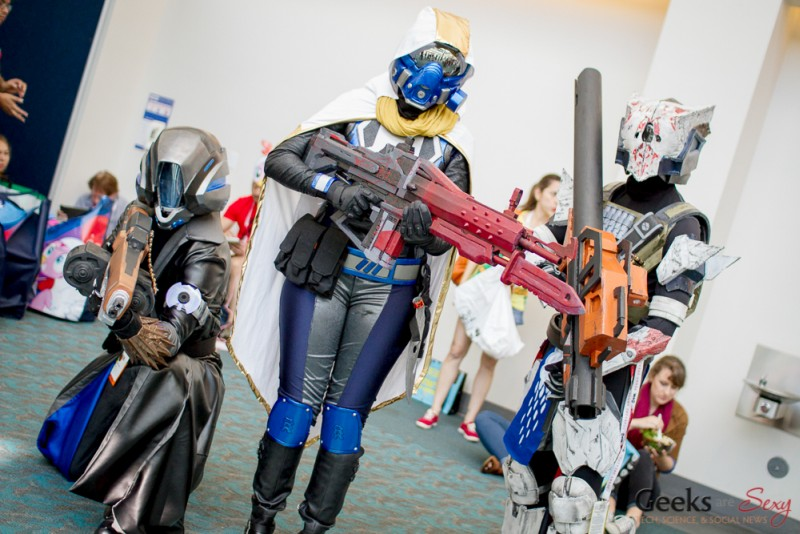 Destiny Cosplayers - San Diego Comic-Con 2015 - Photo by Geeks are Sexy