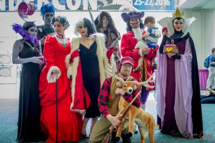 Disney Villains - San Diego Comic-Con 2015 - Photo by Geeks are Sexy