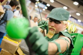 Green Arrow - San Diego Comic-Con 2015 - Photo by Geeks are Sexy
