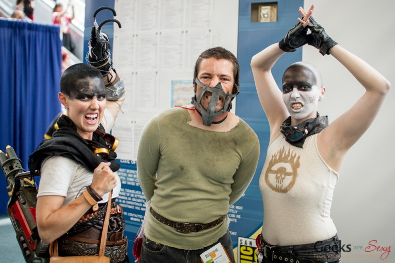 Mad Max Cosplayers - San Diego Comic-Con 2015 - Photo by Geeks are Sexy