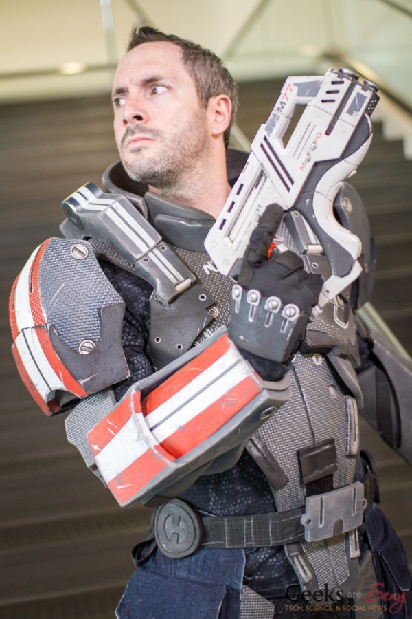 Mass Effect Cosplay - San Diego Comic-Con 2015 - Photo by Geeks are Sexy