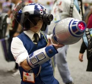 Mega Man - San Diego Comic-Con 2015 - Photo by San Diego Comic-Con 2015 - Photo by San Diego Shooter