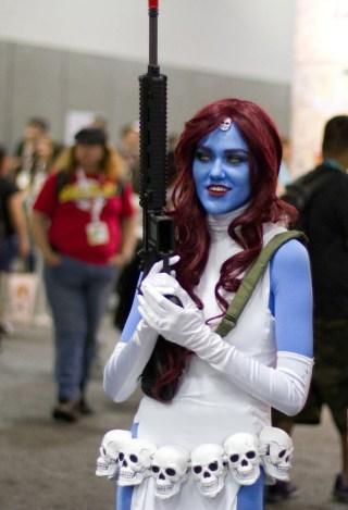Mystique - San Diego Comic-Con 2015 - Photo by San Diego Comic-Con 2015 - Photo by San Diego Shooter
