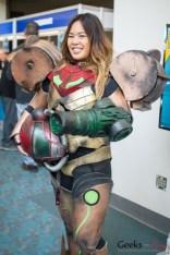 Samus Aran (Metroid) - San Diego Comic Con 2015 - Photo by Geeks are Sexy
