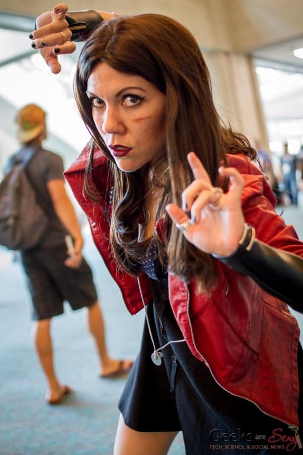 Scarlett Witch - Jenny Lorenzo - San Diego Comic Con 2015 - Photo by Geeks are Sexy