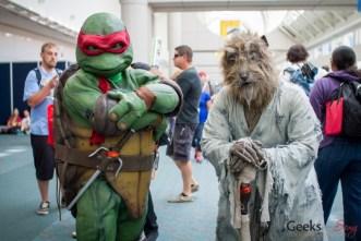 Teenage Mutant Ninja Turtles - San Diego Comic Con 2015 - Photo by Geeks are Sexy