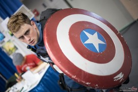 Captain America - Quebec City Comic Con 2015 - Photo by Geeks are Sexy