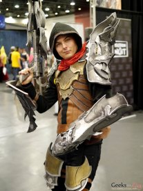 Diablog 3 Demon Hunter - Quebec City Comic Con 2015 - Photo by Geeks are Sexy