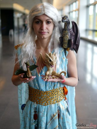Khaleesi - Quebec City Comic Con 2015 - Photo by Geeks are Sexy