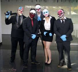 Payday Cosplayers - Quebec City Comic Con 2015 - Photo by Geeks are Sexy