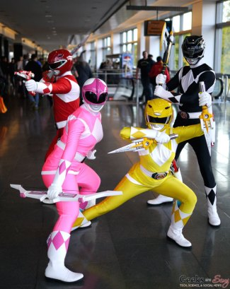 Power Rangers - Quebec City Comic Con 2015 - Photo by Geeks are Sexy