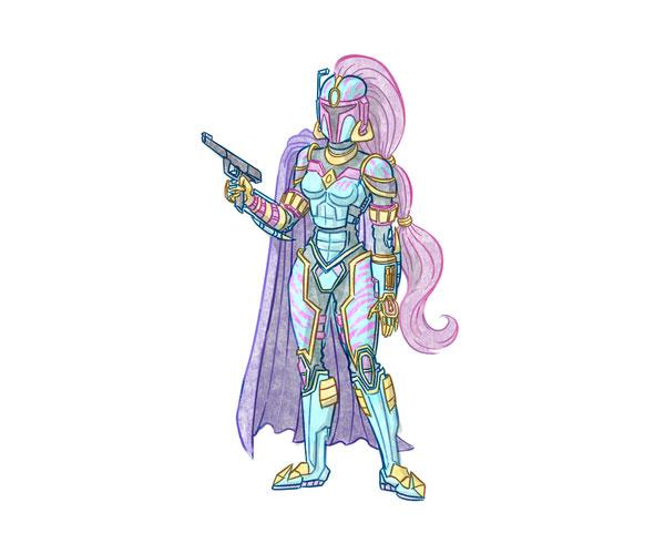 Jasmine the Mandalorian Merc