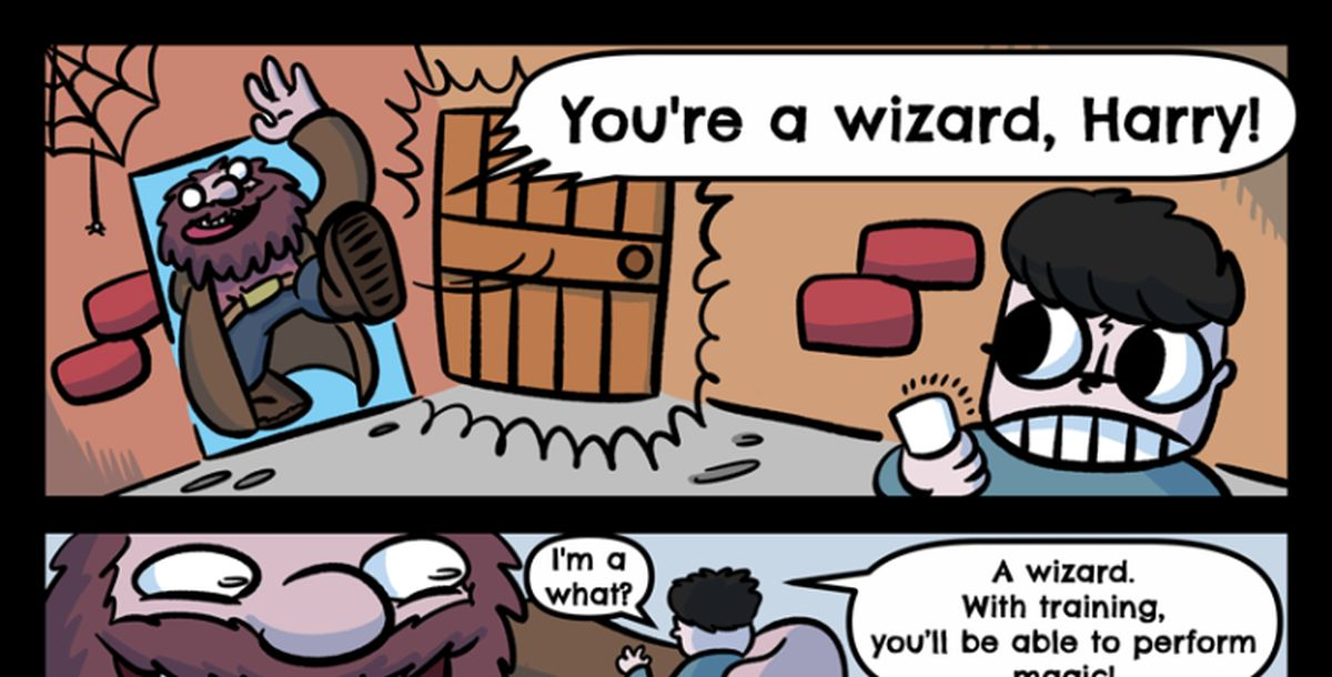 you re a wizard harry comic
