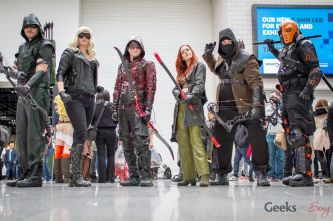 Arrow Cosplayers - London Super Comic Con 2016 - Photo by Geeks are Sexy