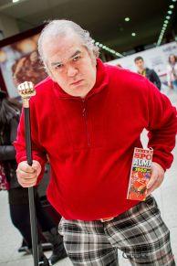 Biff Tannen - Back to the Future - London Super Comic Con 2016 - Photo by Geeks are Sexy