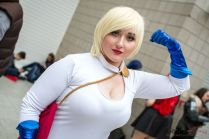 Power Girl - Giverny Genesis - London Super Comic Con 2016 - Photo by Geeks are Sexy