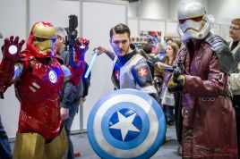 When Marvel Meets Star Wars - - London Super Comic Con 2016 - Photo by Geeks are Sexy