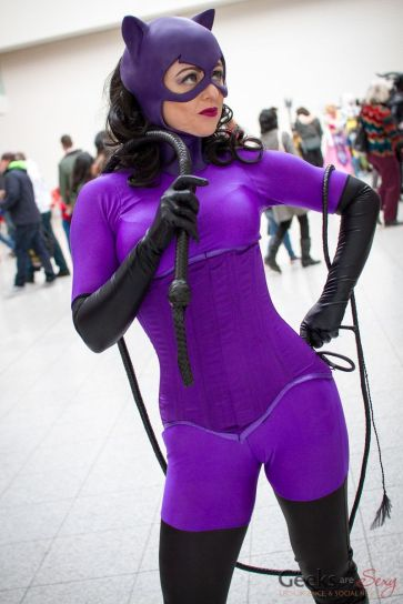 Catwoman (Babsbat) - London Super Comic Con 2016 - Photo by Geeks are Sexy