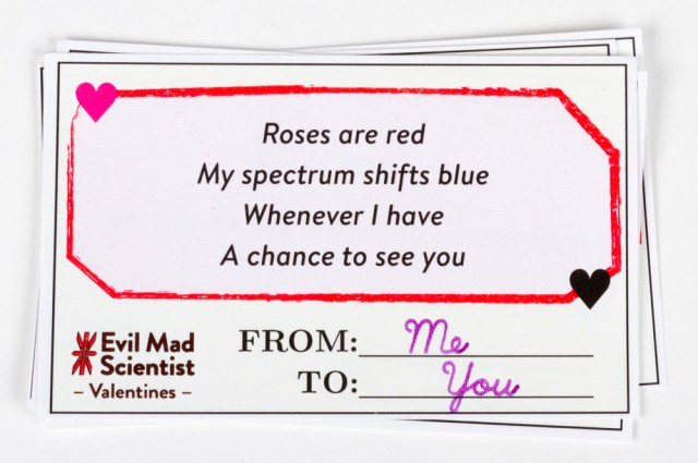 Download and Print: Math and Science Valentine's Day Cards [Pics]