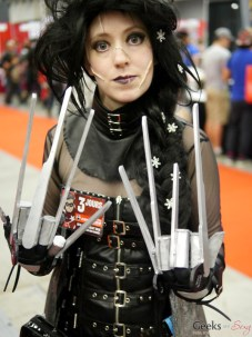 Elsa / Edward Scissorhands Mashup - Montreal Comiccon 2016 - Photo by Geeks are Sexy