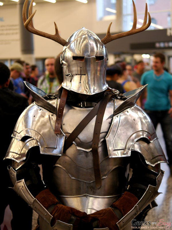 Knight of Ni - Montreal Comiccon 2016 - Photo by Geeks are Sexy