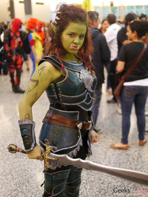 Garona Halforcen (Warcraft Movie) - Montreal Comiccon 2016 - Photo by Geeks are Sexy