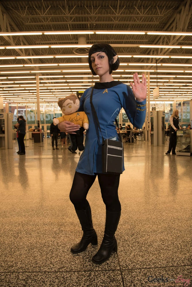 Rule 63 Spock - Montreal Comiccon 2016 - Photo by Geeks are Sexy