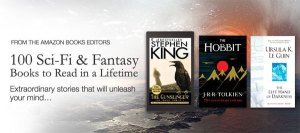 Deal of the Day: 100 Science Fiction & Fantasy Books to Read in a Lifetime