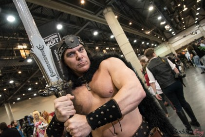 Conan the Barbarian - Quebec City Comiccon 2016 - Photo by Geeks are Sexy