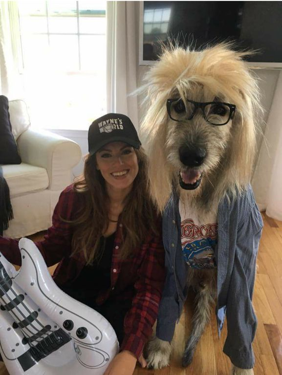 Sexy waynes world costume