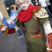 Link - Quebec City Comiccon 2016 - Photo by Geeks are Sexy