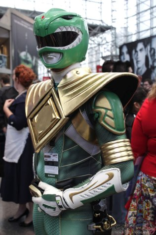 Green Ranger - New York Comic Con 2016 - Photo by Geeks are Sexy