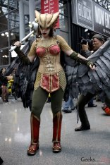 Hawkgirl - New York Comic Con 2016 - Photo by Geeks are Sexy