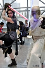 When Star Wars Characters Become Ninjas - New York Comic Con 2016 - Photo by Geeks are Sexy