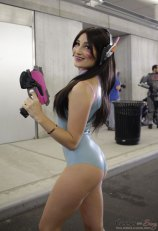 D.VA from Overwatch - New York Comic Con 2016 - Photo by Geeks are Sexy