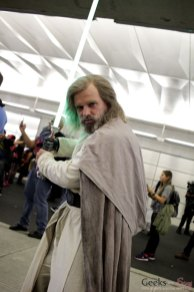 Luke Skywalker - New York Comic Con 2016 - Photo by Geeks are Sexy