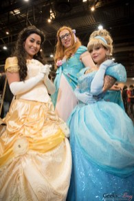 Disney Princesses - Quebec City Comiccon 2016 - Photo by Geeks are Sexy