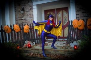 Holly as Batgirl