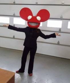 Mel as Deadmau5
