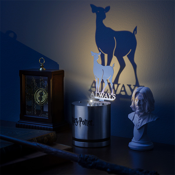 Superb With A Small LED, This Lamp Casts The Shadow Of Snapeu0027s Doe Patronus,  Reminding Us Of What The Character Was Ultimately All About. Itu0027s Not A  Light, Per Se, ...